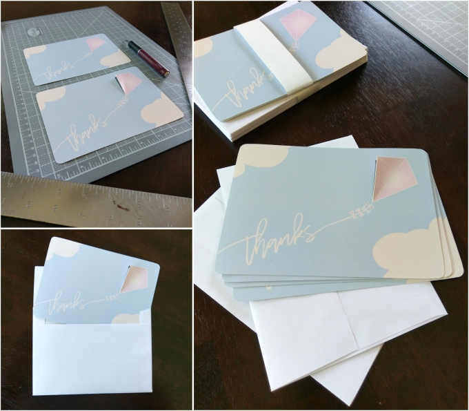 Thank You Card Custom Cut
